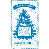 Kitchen Tea Towel, Colorado Towel