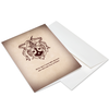 Carmelite Shield Correspondance Cards