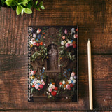 NEW:   Garland of Marian Flowers Writing Journal.