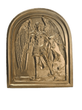 St. Michael Large Gold Wall Art, Extra Large