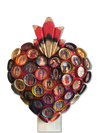 Bottle Cap Guadalupe Sacred Heart