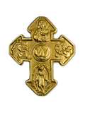 Four-Way Gold Cross, vintage