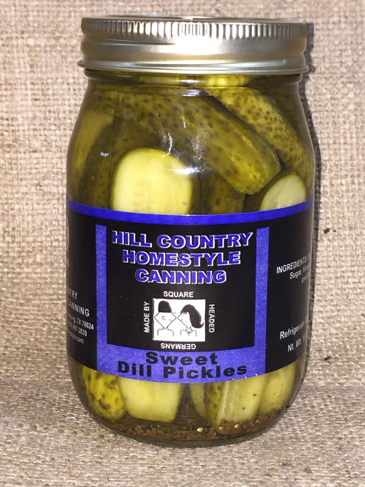 Sweet Dilled Pickles