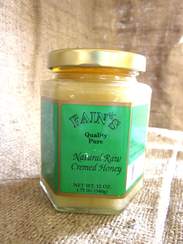 Natural Raw Creamed Honey