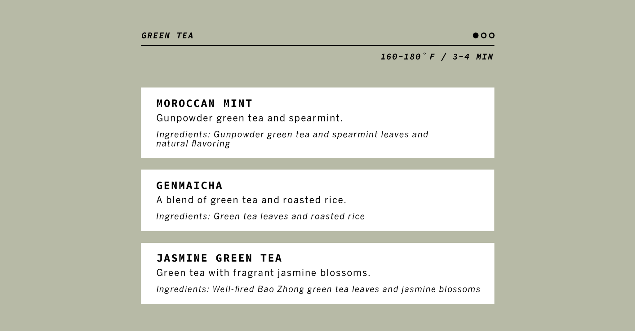 Green Tea Information