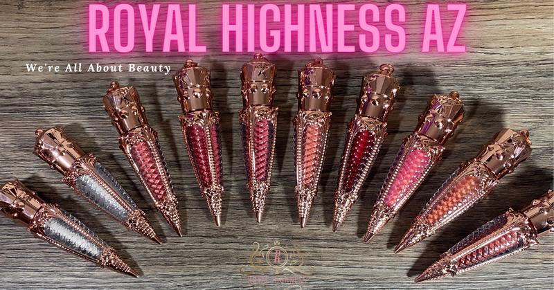 What Inspired The Look For Royal Highness AZ Royal Lipglosses