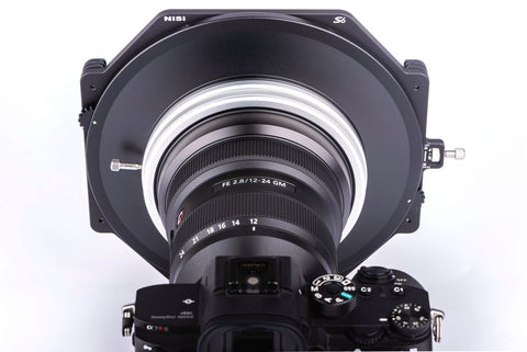 NiSi S6 Filter Holder on Sony 12-24mm F/2.8 GM