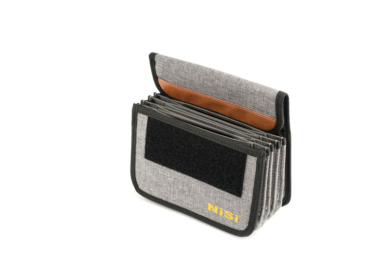 camera-filters-NiSi-Ireland-100mm-Starter-Plus-iii-Filter-Holder-Kit-3rd-generation-pouch-plus-bag-filter-open