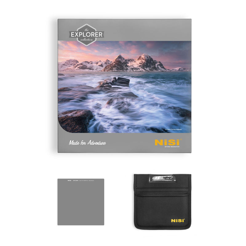 NiSi Explorer 6 Stop 1.8 ND64 Neutral Density Filter 150x150mm - CFIPHOTO.COM