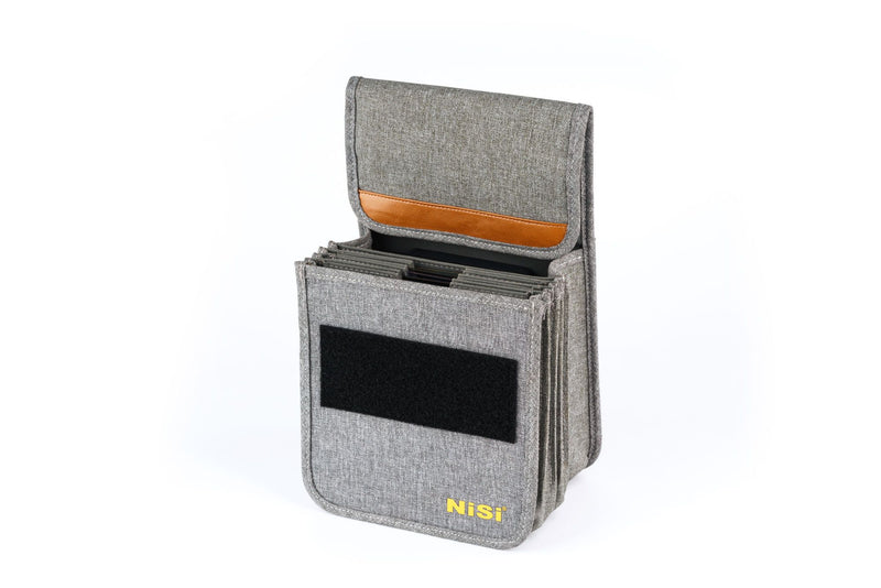 camera-filters-NiSi-Ireland-150mm-Starter-ii-Filter-Kit-second-gen-filter-pouch-bag-open