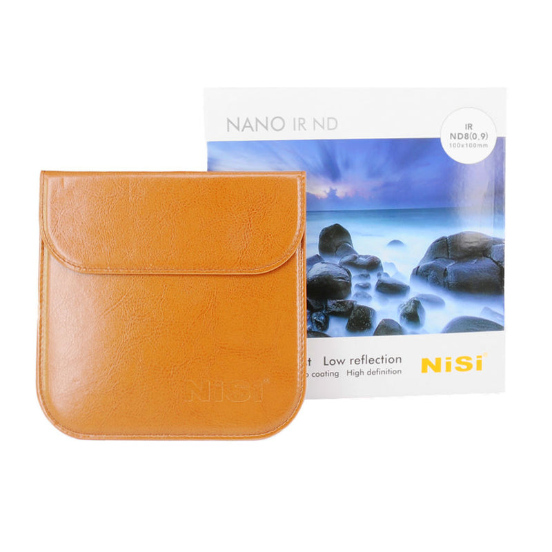 Camera-filters-NiSi-Ireland-3-Stop-0-9-ND8-neutral-density-filter-100X100-pouch-box