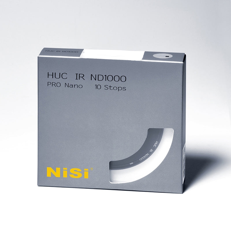 NiSi 39mm 10 Stop 3.0 Neutral Density ND1000 Filter
