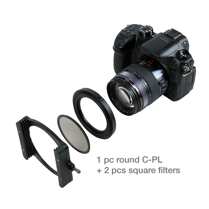 camera-filters-NiSi-Ireland-70mm-filter-holder-fitting-to-camera