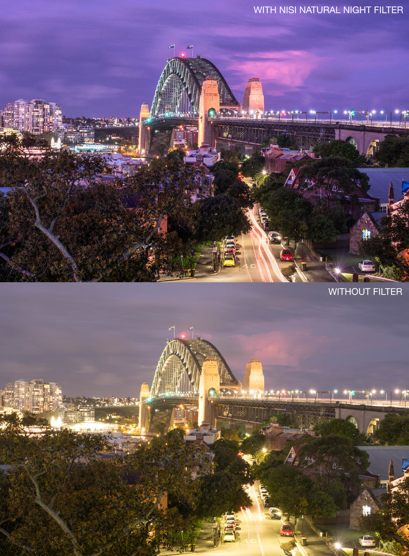 camera-filters-NiSi-Ireland-Natural-Night-Light-Pollution-Filter-75x80mm-example-before-and-after-image
