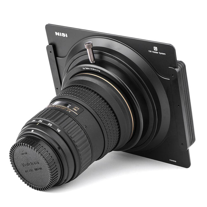 camera-filters-NiSi-Ireland-Q-series-150mm-filter-holder-for-Tokina-at-x-16-28mm-lens-rear-attached