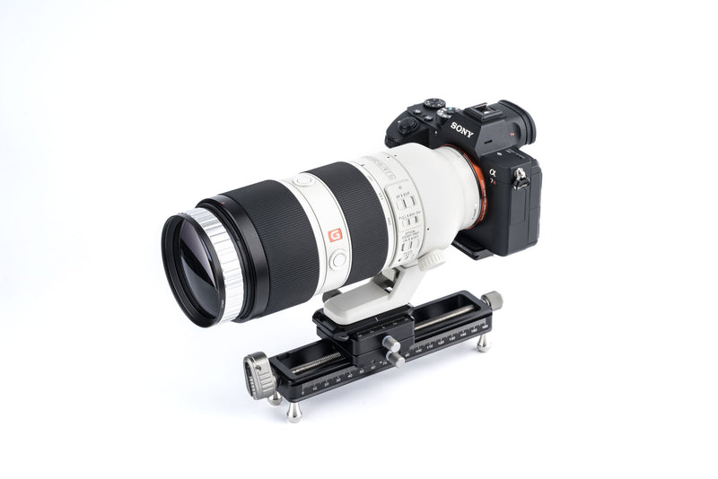 camera-filters-NiSi-Ireland-macro-focusing-rail-nm-180-with-360-degree-rotating-clamp-fitted-to-sony-lens