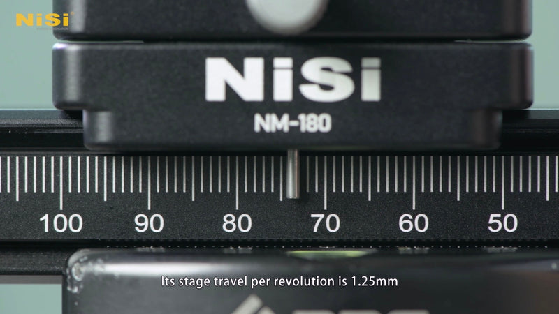camera-filters-NiSi-Ireland-macro-focusing-rail-nm-180-with-360-degree-rotating-clamp-travel-resolution