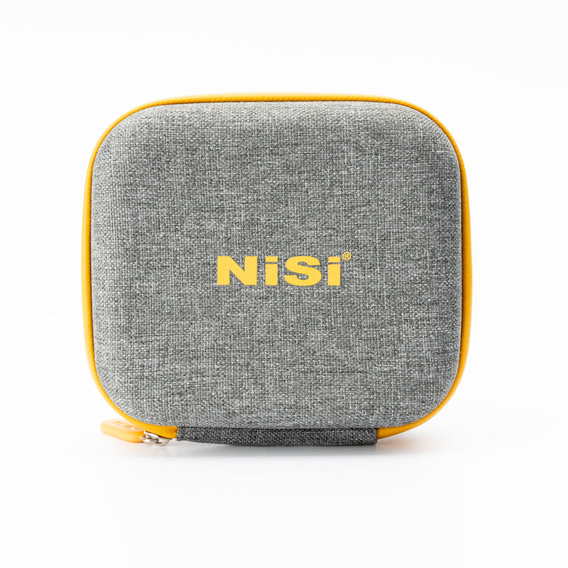 cfiphoto.com-NiSi-Ireland-screw-on-circular-Filter-caddy-pouch-bag-front-standing-up