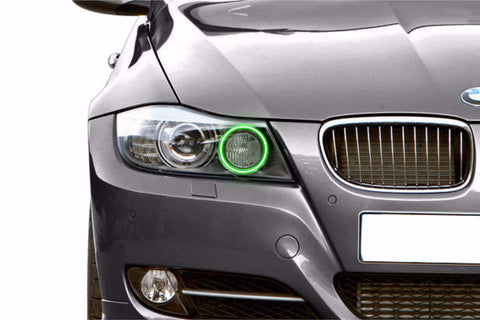 BMW 330i (07-09): Profile Prism Fitted Halos (RGB)