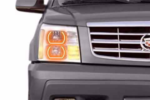 Cadillac Escalade (02-06): Profile Prism Fitted Halos (RGB)