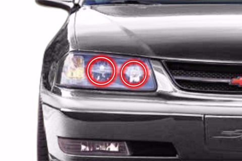 Chevrolet Impala (00-05): Profile Prism Fitted Halos (RGB)