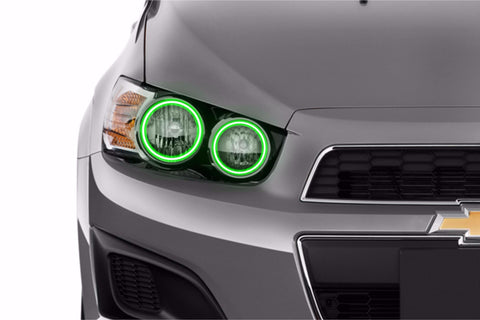 Chevrolet Sonic (12-16): Profile Prism Fitted Halos (RGB)