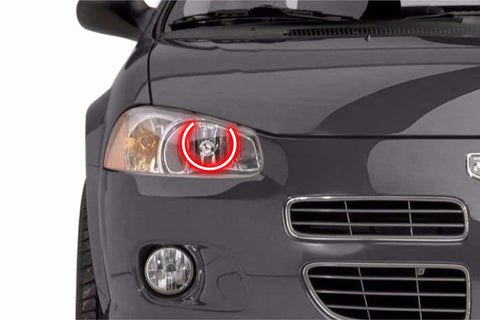 Dodge Stratus (01-06): Profile Prism Fitted Halos (RGB)