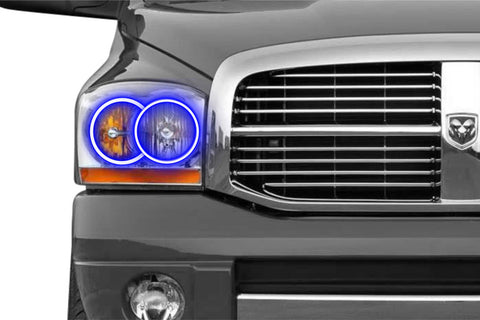 Dodge Ram (06-08): Profile Prism Fitted Halos (RGB)