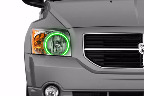 Dodge Caliber (07-12): Profile Prism Fitted Halos (RGB)
