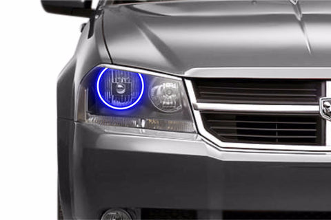 Dodge Avenger (08-14): Profile Prism Fitted Halos (RGB)