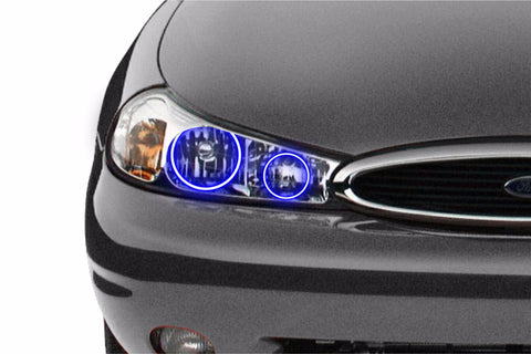Ford Contour (98-00): Profile Prism Fitted Halos (RGB)