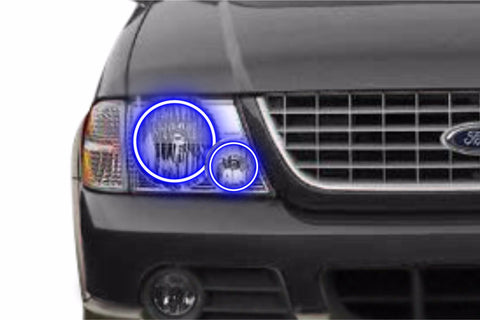 Ford Explorer (02-05): Profile Prism Fitted Halos (RGB)