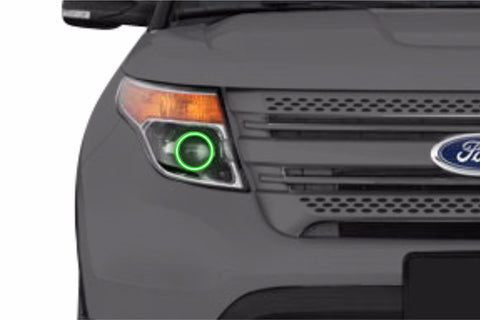 Ford Explorer (11-15): Profile Prism Fitted Halos (RGB)