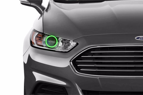 Ford Fusion (13-16): Profile Prism Fitted Halos (RGB)