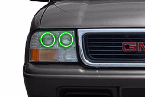GMC Sonoma (98-04): Profile Prism Fitted Halos (RGB)