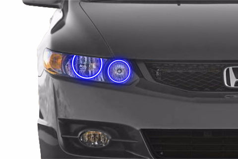 Honda Civic Coupe (09-11): Profile Prism Fitted Halos (RGB)