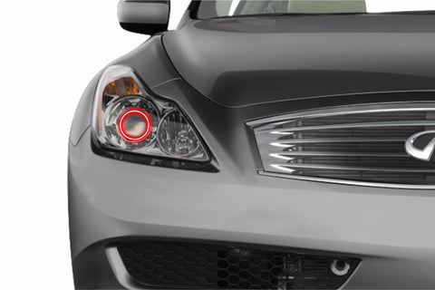 Infiniti G37 Coupe (08-10): Profile Prism Fitted Halos (RGB)