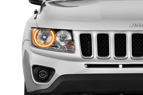 Jeep Compass (11-16): Profile Prism Fitted Halos (RGB)
