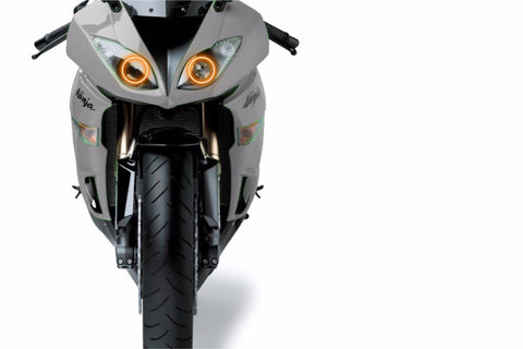 Kawasaki ZX-6R (09-12): Profile Prism Fitted Halos (RGB)