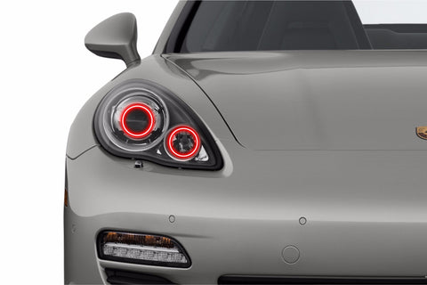 Porsche Panamera (10-13): Profile Prism Fitted Halos (RGB)