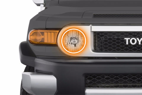 Toyota FJ Cruiser (07-14): Profile Prism Fitted Halos (RGB)