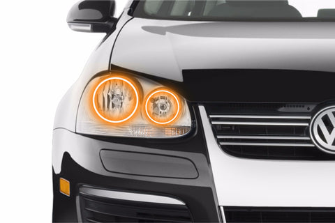 Volkswagen Jetta (05-10): Profile Prism Fitted Halos (RGB)