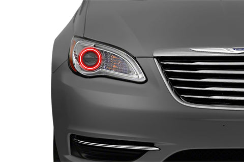 Chrysler 200 (11-17): Profile Prism Fitted Halos (RGB)