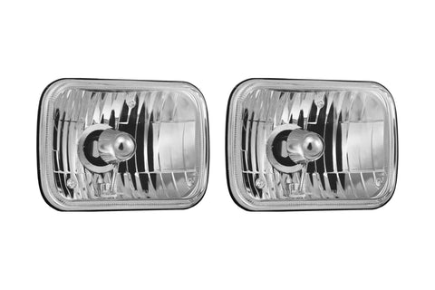Vision X Sealed Beam Halogen Headlights: 5x7""