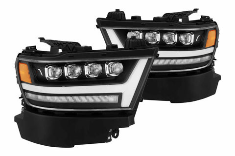 Dodge Ram 1500 (19+): AlphaRex Nova Headlights