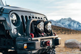 LED Fog Light System: Jeep Wrangler JK (07-18)