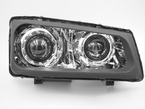 Chevrolet Silverado (Cateye; 03-07): Custom Headlights Quad Bi-Xenon Retrofit Stage I