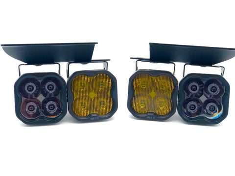 Chevrolet Silverado (03-07): SS3 Dual SAE LED Fog Light Kit