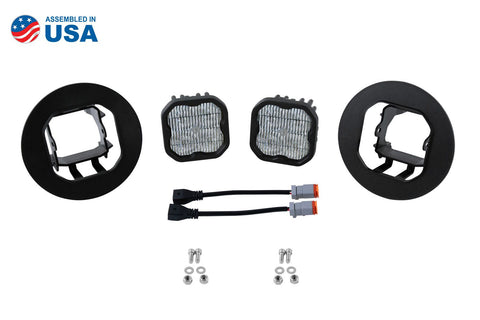 GMC Sierra (07-13): Diode Dynamics SS3 SAE LED Fog Light Kit