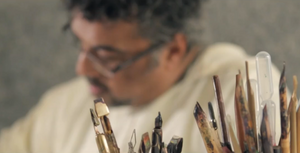 Calligraphy Artist Samir Malik and the Eternal Design